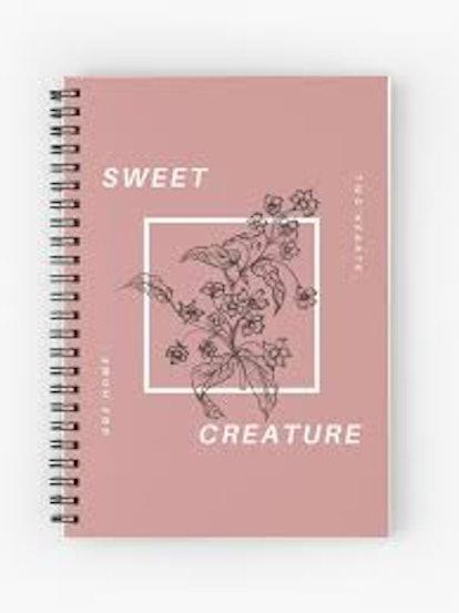 Sweet Creature Spiral Notebook