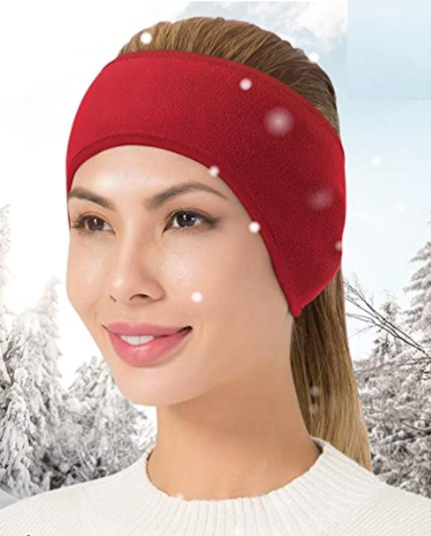 JOEYOUNG Fleece Ear-Warmer Headband