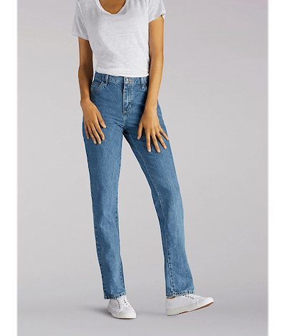 WOMEN'S ORIGINAL RELAXED FIT STRAIGHT LEG JEANS (TALL) IN PREMIUM STONE
