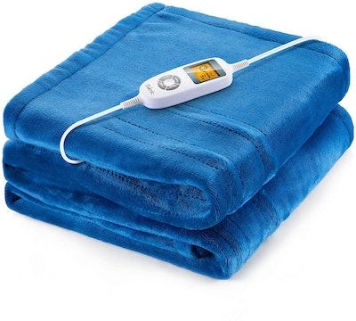 iTeknic Heated Blanket Electric Throw