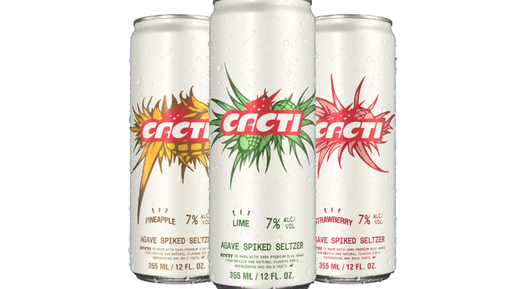 Travis Scott is releasing a new Agave Spiked Seltzer Line called CACTI.
