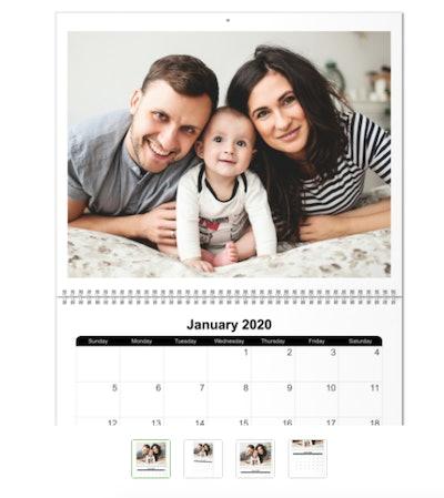 Full Photo Wall Calendar