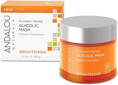 Andalou Naturals Glycolic Brightening Mask With Pumpkin Honey