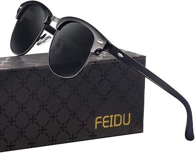 FEIDU Retro Polarized Men's Sunglasses