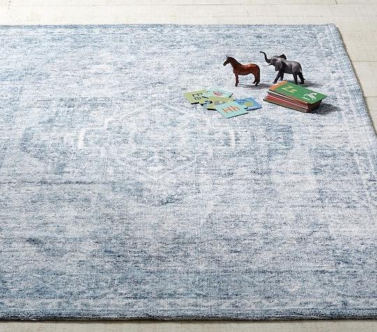 family friendly machine washable rug