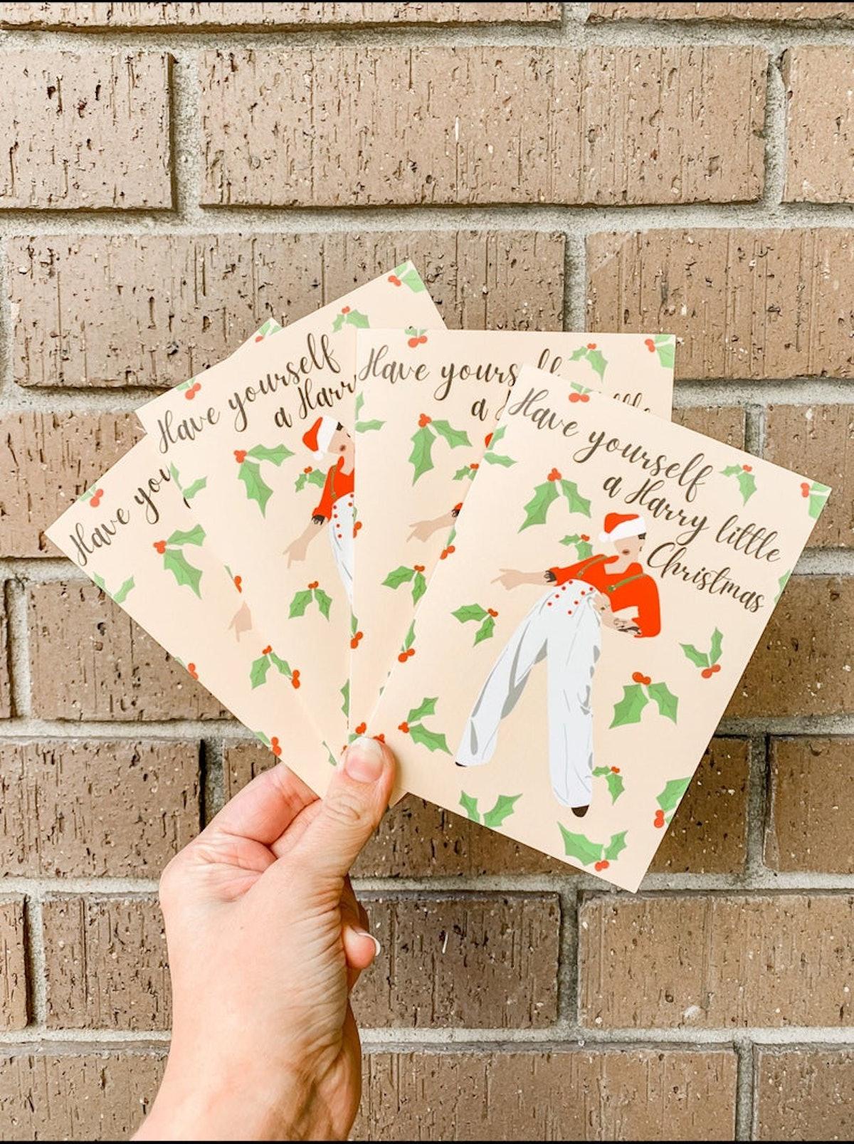 Harry Styles Christmas Card   Harry Little Christmas Card