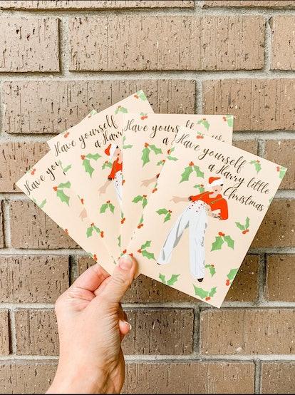 Harry Styles Christmas Card | Harry Little Christmas Card