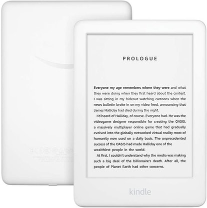 Amazon Kindle With Built-in Front Light