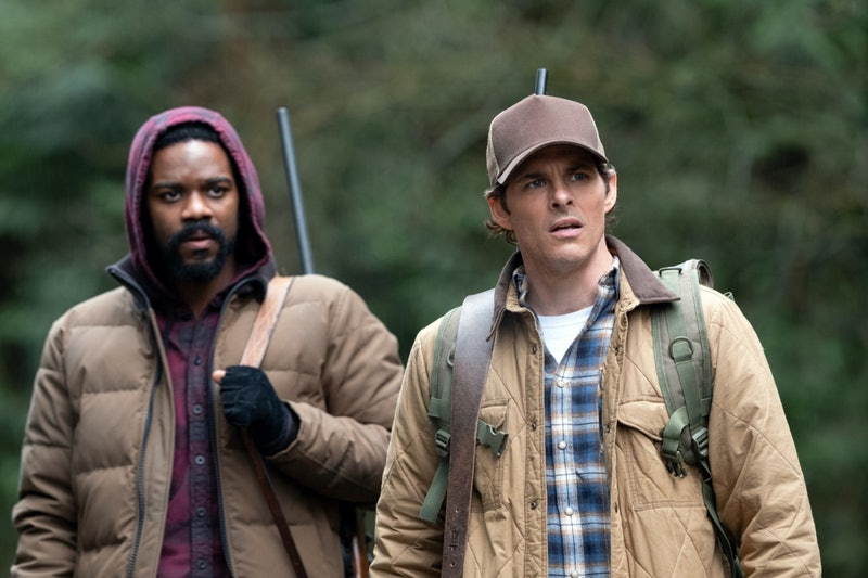 Jovan Adepo and James Marsden in 'The Stand' on CBS All Access.