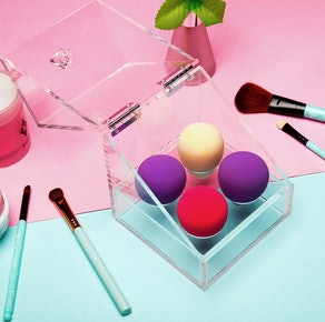 Newslly Makeup Sponge Organizer