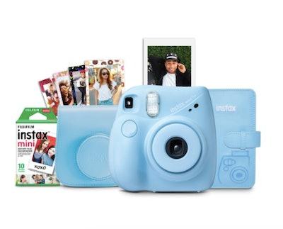 Fuji Instax Mini 7+ Instant Camera Bundle