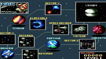 StarFox's innovative map system