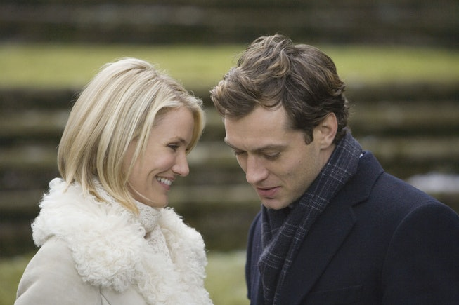 Cameron Diaz and Jude Law in 'The Holiday'