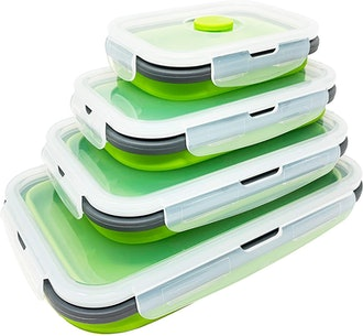 SuperDee Collapsible Food Storage Containers (4-Pack)