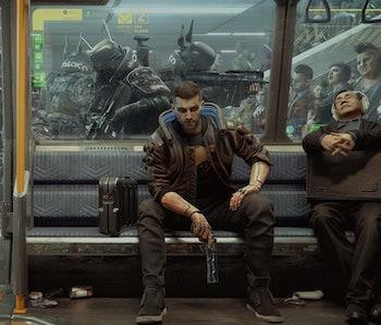 A screenshot from 'Cyberpunk 2077'
