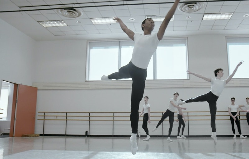 A still from the Disney+ series 'On Pointe.'