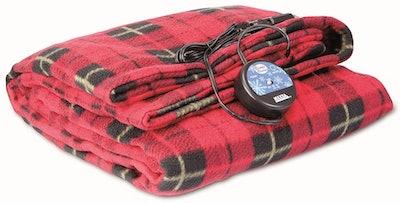 MAXSA Large Heated Travel Blanket