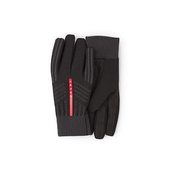 Prada Windproof Knit Gloves