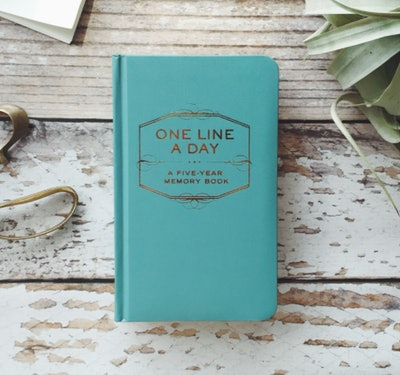 Chronicle Books Staff One-Line-A-Day Memory Book