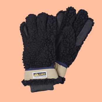 Elmer Gloves Wool Deep Pile Gloves Fleece