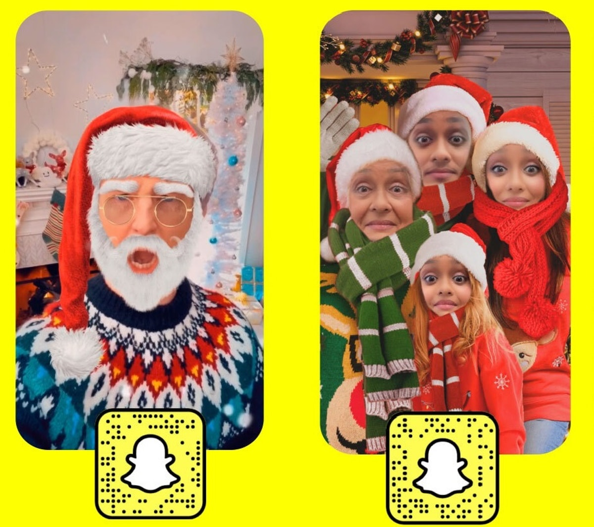 Here's where to find Snapchat's holiday 2020 lenses to start sending updates.
