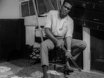 Duane Jones gives a quiet, determined performance that would stand out for decades to come