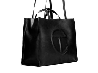 Telfar Large Black Shopping Bag