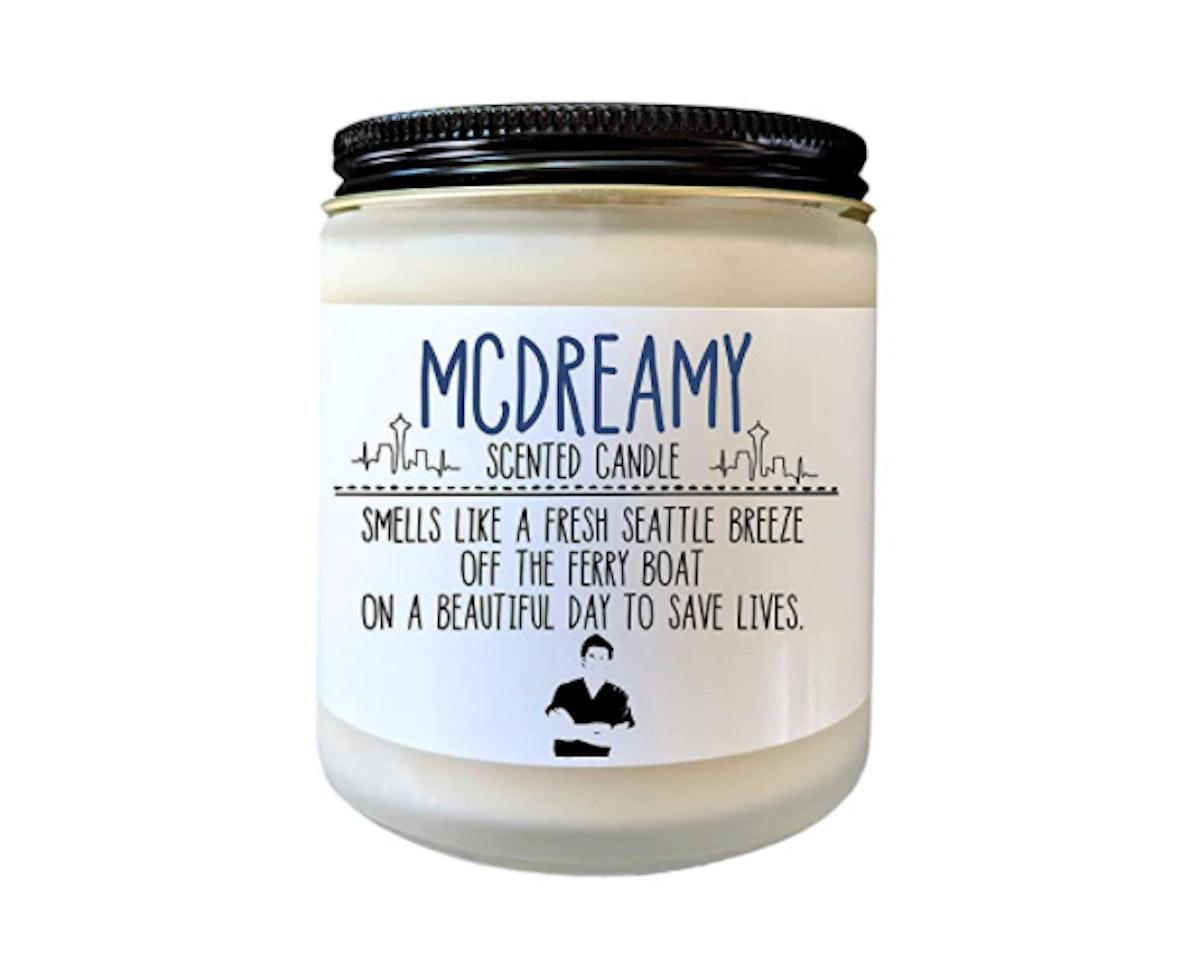 Define Design 11 Grey's Anatomy McDreamy Candle