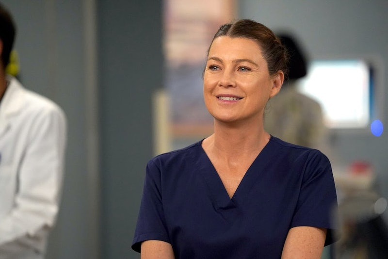 Ellen Pompeo as Meredith in 'Grey's Anatomy'