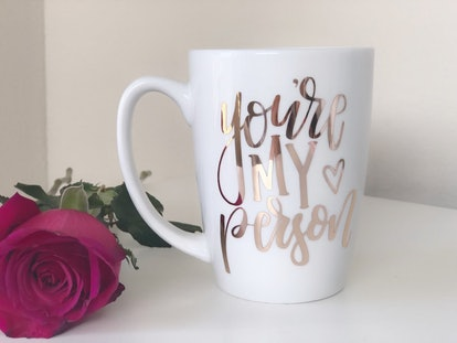 HappilyChicDesigns You're My Person Mug