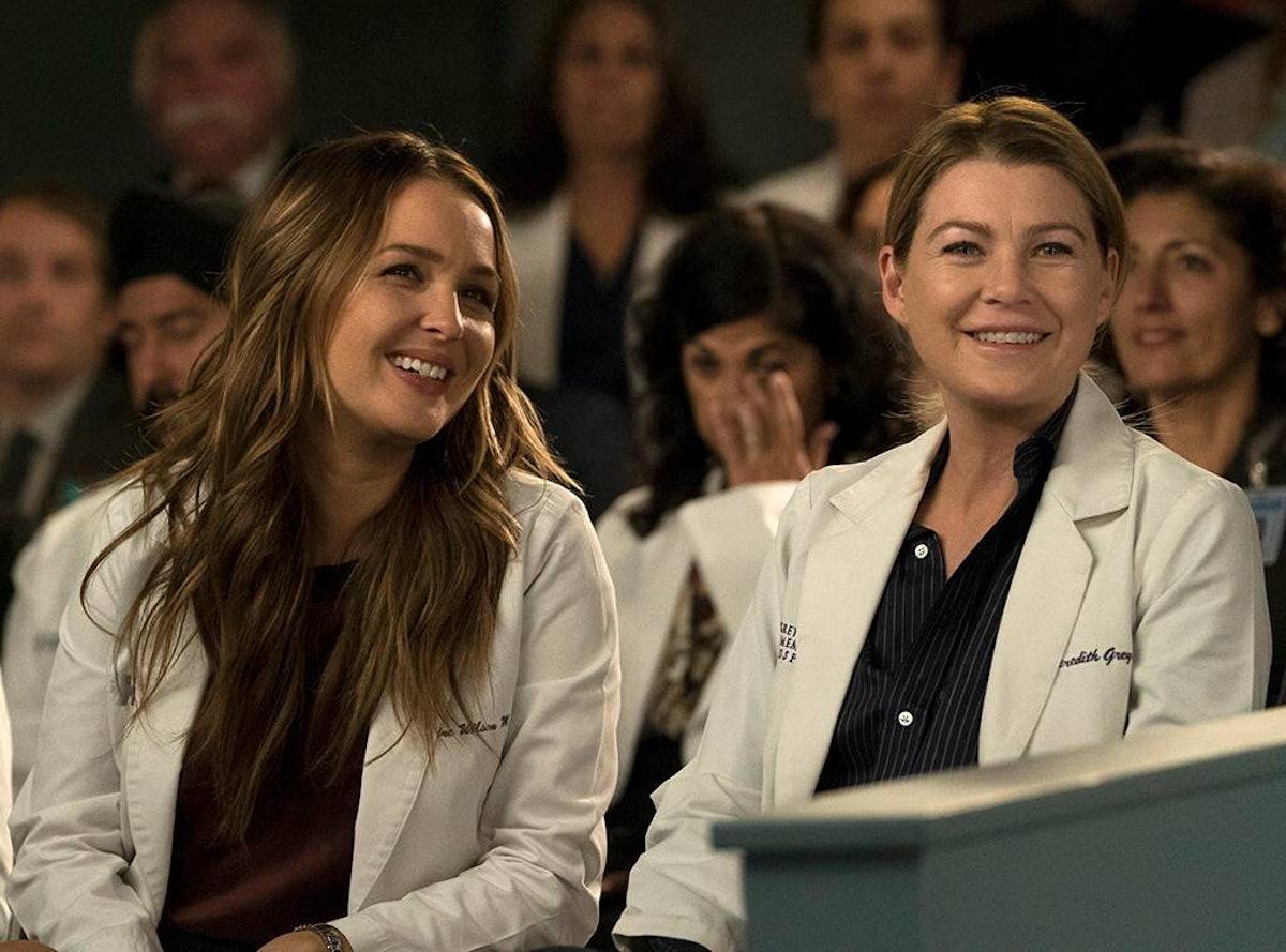 Meredith and Jo on 'Grey's Anatomy'
