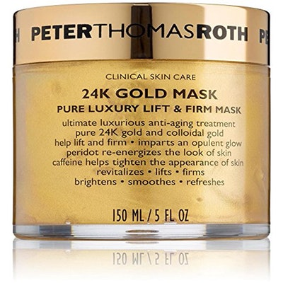 24K Gold Mask Anti-aging Cream Caffeine Facial Mask