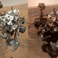 Mars rover selfie reveals the toll of life on Mars