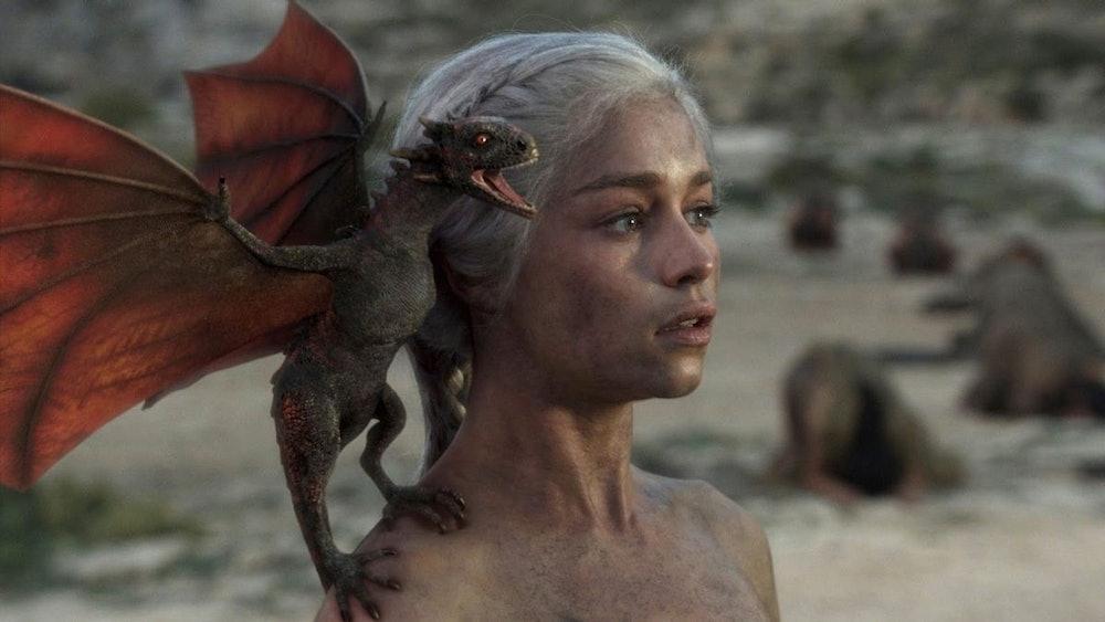 daenerys targaryen dragon game of thrones