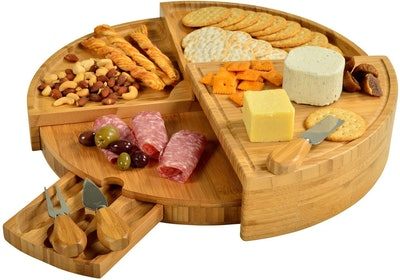 Picnic at Ascot Bamboo Cheese/Charcuterie Board