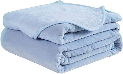 Easeland Luxury Fleece Thermal Blanket