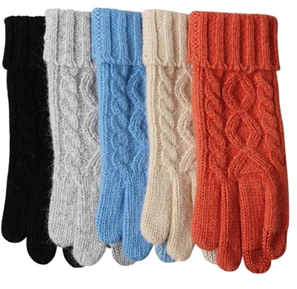 ELMA Womens Texting Touchscreen Gloves