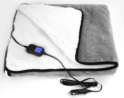 Goodyear Heated Travel Blanket