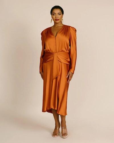 Annalise Satin Dress