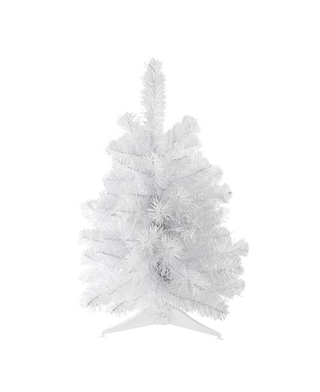 "18"" White Pine Artificial Christmas Tree - Unlit"