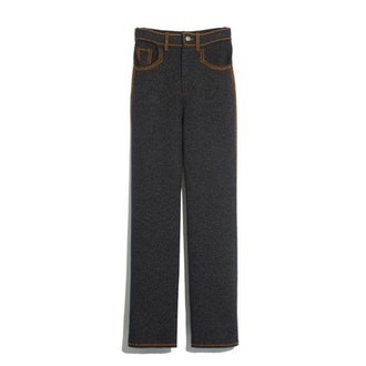 Cashmere and Cotton Trousers