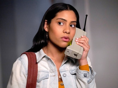 Haskiri Velazquez as Daisy in 'Saved by the Bell' via Peacock's press site
