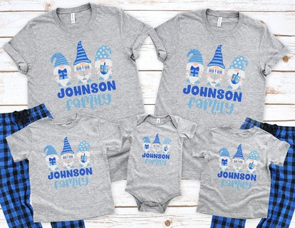 Hanukkah Gnomes — Funny Jewish Holiday Family Pajamas