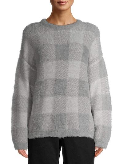 Time and Tru Women's Eyelash Sweater
