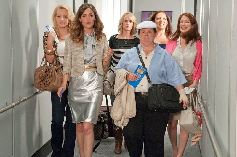 Melissa McCarthy revealed that a strip club scene was cut from 'Bridesmaids'