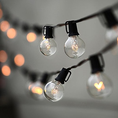 Lampat 25Ft Globe String Lights with Bulbs