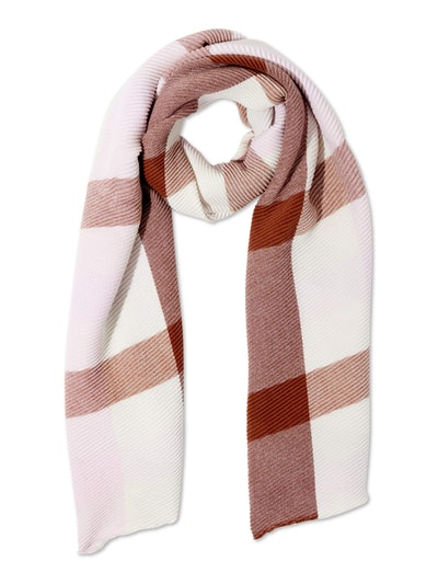 Time and Tru Ladies Pleated Travel Scarf