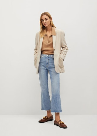 Crop Flared Jeans