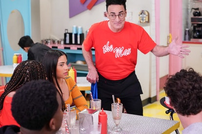 Haskiri Velazquez as Daisy, Ed Alonzo as Max in 'Saved by the Bell' via Peacock's press site