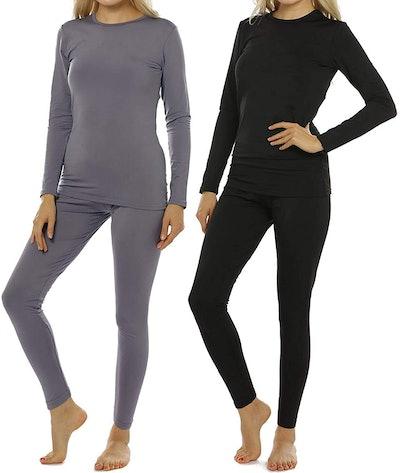 ViCherub Women's Thermal Underwear (2-Pack)
